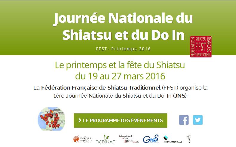Journée Nationale du Shiatsu
