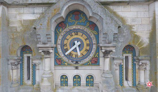 WebExpress - DroneExpress - Prise de vue aérienne par drone de Briare et son Eglise décorée de mosaïques