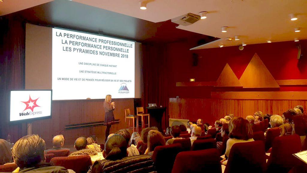 Soirée-conférence 'Améliorer la performance' aux Pyramides