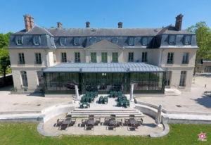 WebExpress - DroneExpress - Château Chanorier à Croissy sur Seine par drone