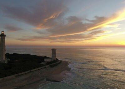 DroneExpress / WebExpress - Prise de vue aérienne - Phare des baleines Ile de Ré